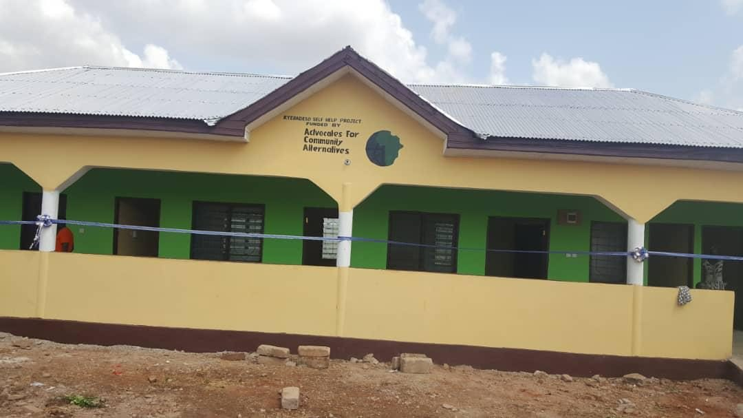 Kyeradeso Community inaugurates health clinic as culmination of ACA-led community mobilization